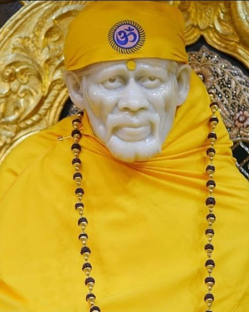 sai baba hd yellow dress wallpaper